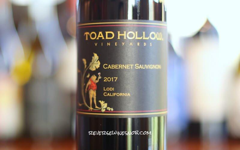 Toad Hollow Cabernet Sauvignon - Toadally Tasty Cab