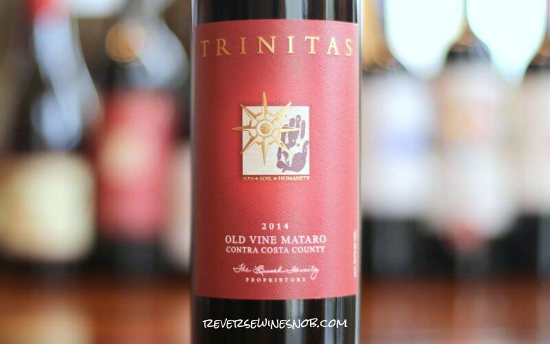 2014 Trinitas Old Vine Mataro - Insider Deal!
