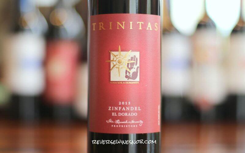 2015 Trinitas Old Vine Zinfandel - Insider Deal!