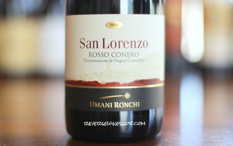 Umani Ronchi San Lorenzo Rosso Conero - More Montepulciano Please