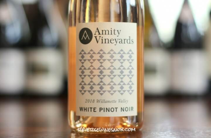Amity Vineyards Willamette Valley White Pinot Noir - Dreamy