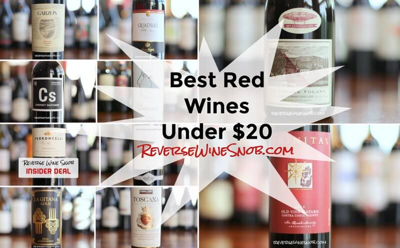 Best Red Wines Under $20