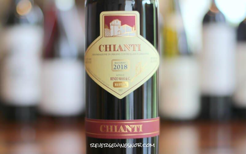 Renzo Masi Chianti Rufina - Bring On The Tomato Sauce!
