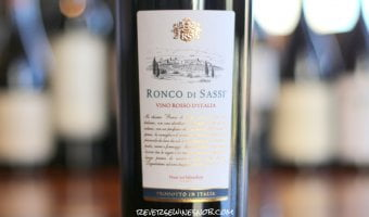Ronco di Sassi Vino Rosso - A Big, Sweet and Tasty One from Aldi