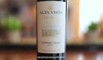 Bodega Alta Vista Estate Cabernet Franc - Frankly Tasty