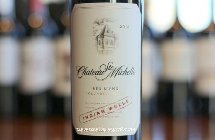 Chateau Ste Michelle Indian Wells Red Blend - Oak So Good