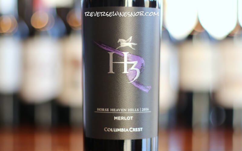Columbia Crest H3 Merlot – The Right Stuff