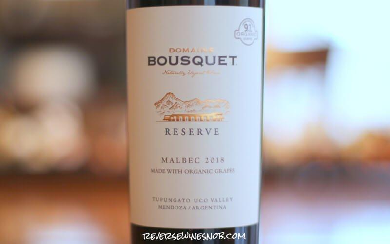 Domaine Bousquet Reserve Malbec – Fresh and Juicy