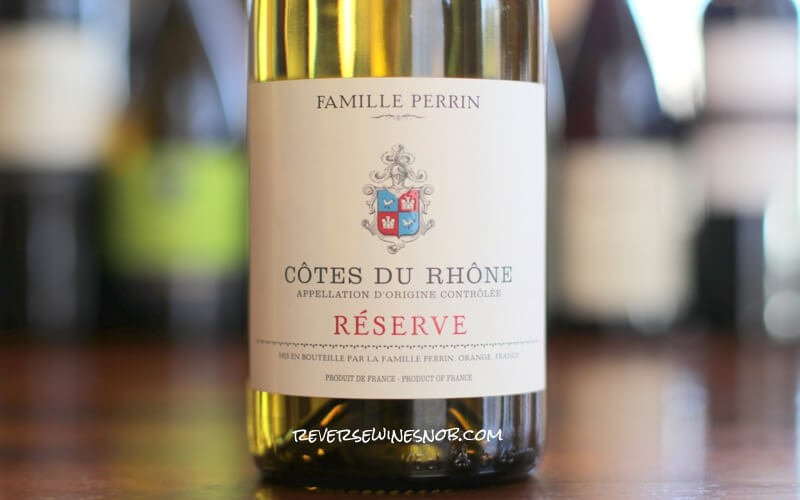 Famille Perrin Cotes du Rhone Reserve Blanc – Fresh and Smooth