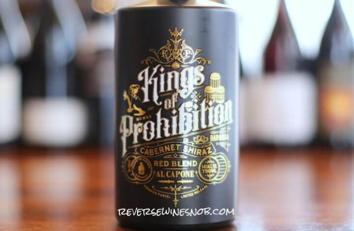 Kings of Prohibition Cabernet Shiraz Red Blend – Hitting on All Eight