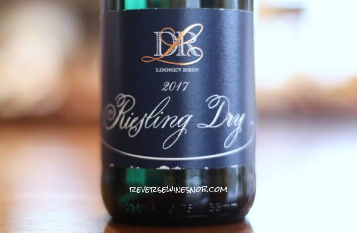 Loosen Dr. L Riesling Dry – Tart and Zesty