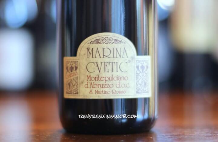 Marina Cvetic Montepulciano d'Abruzzo Riserva – Montepulciano Love