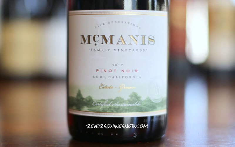 McManis Pinot Noir – A Rare Find