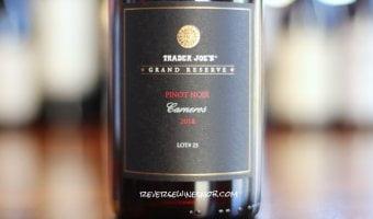 Trader Joe's Grand Reserve Carneros Pinot Noir - Classic Carneros