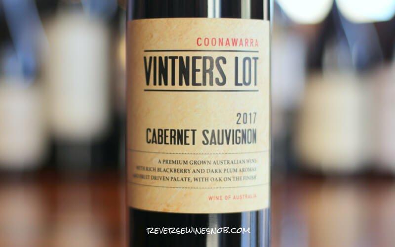 Vintner's Lot Coonawarra Cabernet Sauvignon – Easy For $8