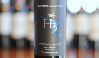 Columbia Crest H3 Les Chevaux Red For The Win!