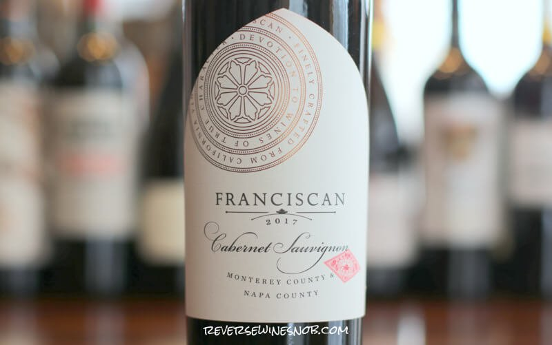 Franciscan Estate Cabernet Sauvignon - Take a Vow of Delicious