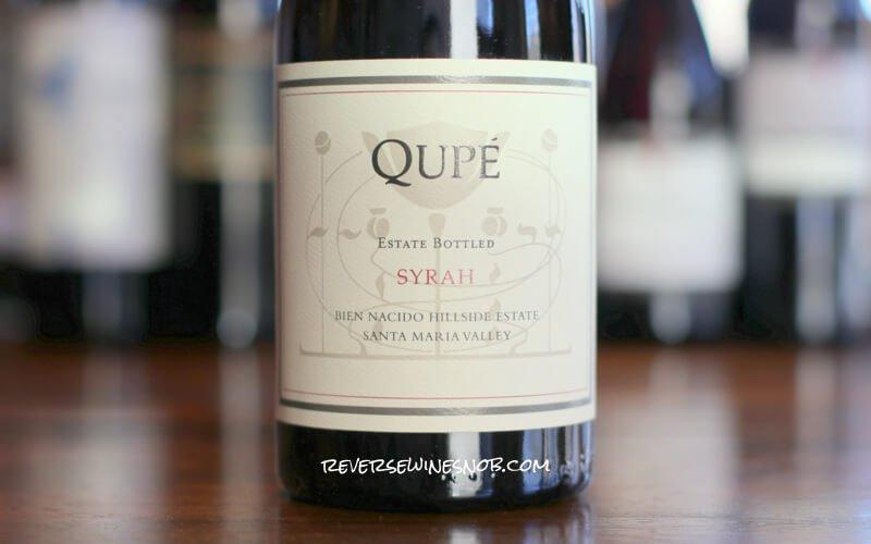 $25 Off Per Bottle INSIDER DEAL! Qupé Bien Nacido Hillside Estate Syrah