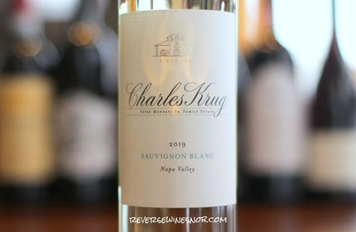 Charles Krug Napa Valley Sauvignon Blanc – Crisp, Clean and Zesty