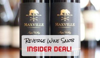 INSIDER DEAL! Maxville Napa Valley Cabernet Sauvignon – Napa Cab Heaven