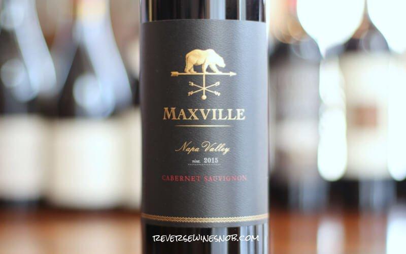 2015 Maxville Napa Valley Cabernet Sauvignon