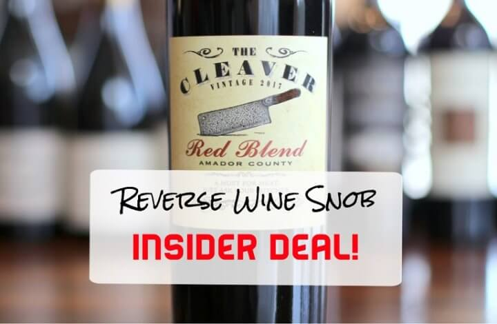 INSIDER DEAL! The Cleaver Red Blend - Carnivore's Delight