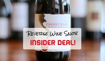 BOOM goes the INSIDER DEAL! Vinum Cellars Cherry Bomb Pinot Noir