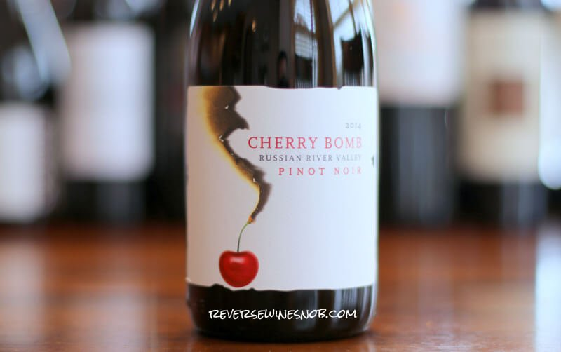 BOOM goes the INSIDER DEAL! Vinum Cellars Cherry Bomb Pinot Noir
