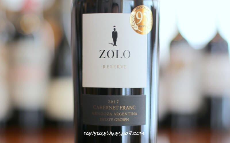 Zolo Reserve Cabernet Franc - Succulent Stuff
