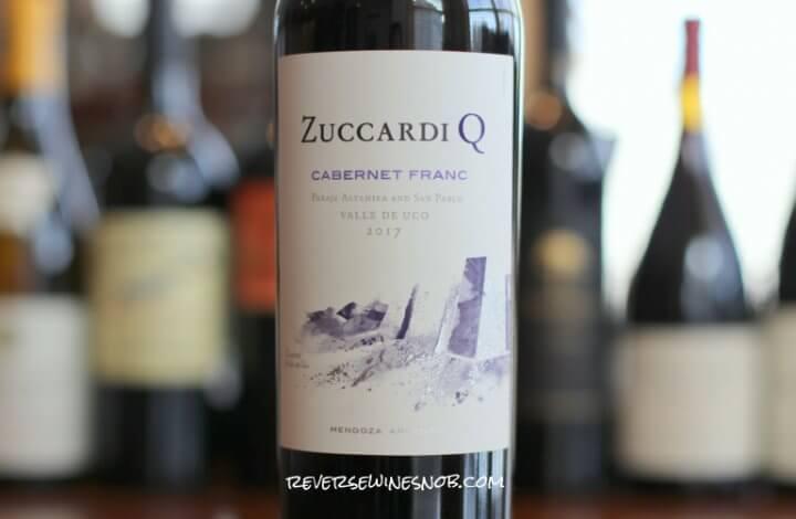 Zuccardi Q Cabernet Franc - An Impressive Start