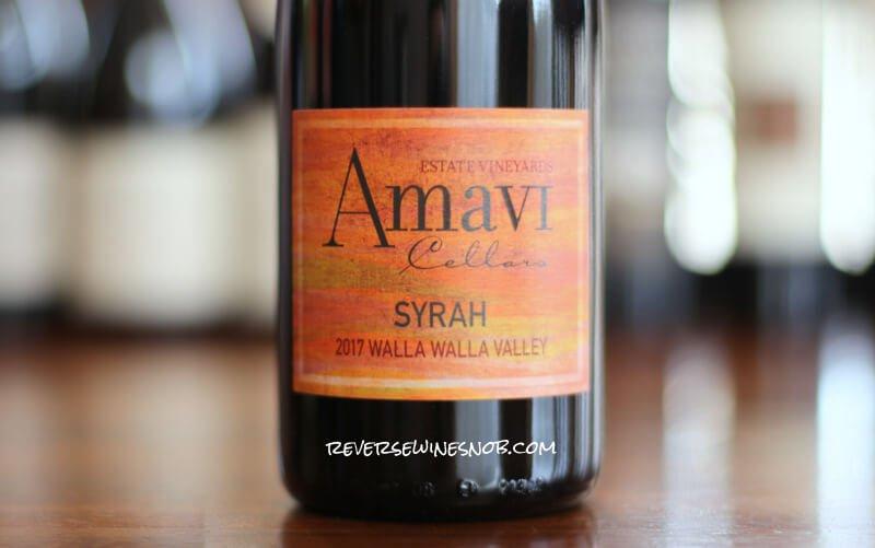 INSIDER DEAL! Amavi Cellars Walla Walla Valley Syrah – Nirvana