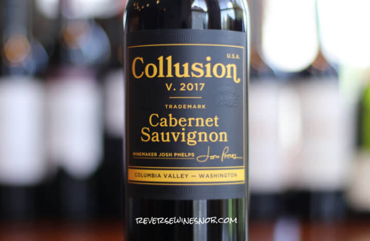 Collusion Cabernet Sauvignon – Legitimately Tasty