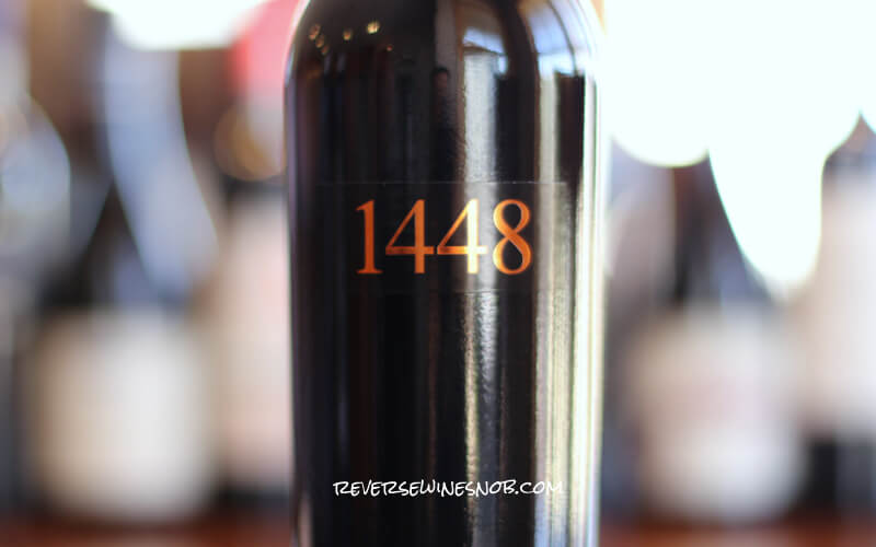 Jeff Runquist 1448 Red Blend – Quite the Gem
