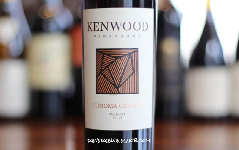 Kenwood Vineyards Sonoma County Merlot - Juicy and Smooth