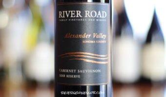 River Road Reserve Alexander Valley Cabernet Sauvignon - Quite A Finish