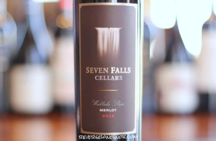 Seven Falls Wahluke Slope Merlot - Coffee and Chocolate
