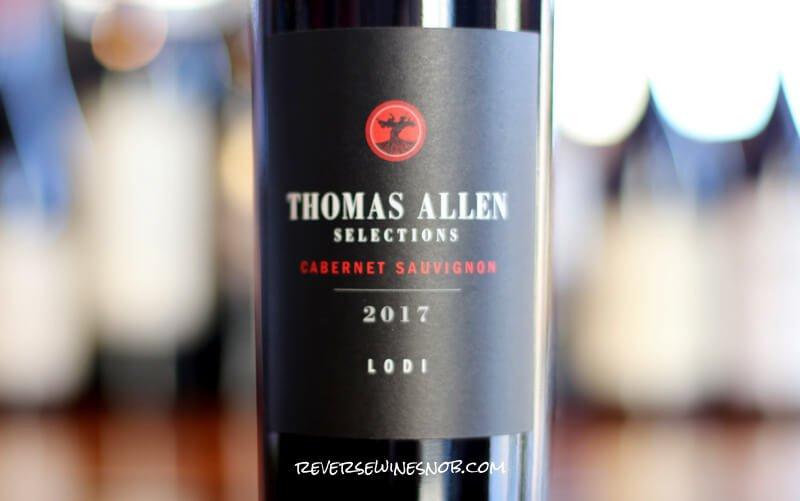 Thomas Allen Selections Cabernet Sauvignon – Serious Value