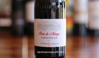 Bois de Menge Gigondas - Balanced and Easy