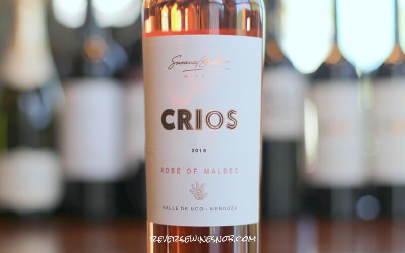 2018 Crios Rosé of Malbec