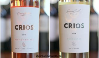 Crios Torrontés and Rosé of Malbec - Scrumptious Summertime Sippers