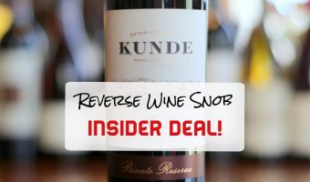 An Outstanding Insider Deal! The Kunde North Coast Private Reserve Red