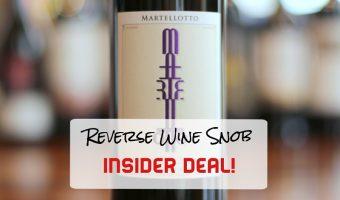 Over $20 Off Per Bottle INSIDER DEAL! The Martellotto Rosso di Sera
