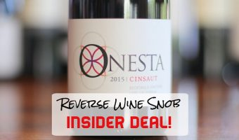 A Scintillating Insider Deal Made From 130 year-old vines! The Onesta Cinsault
