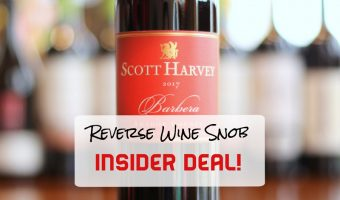 INSIDER DEAL! Scott Harvey Mountain Selection Barbera – Amore!