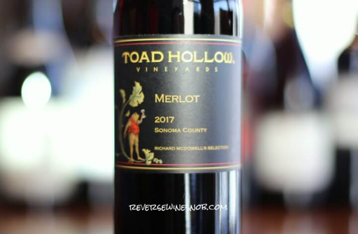 Toad Hollow Merlot – Downright Tasty