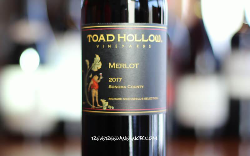 Toad Hollow Merlot – Downright Tasty