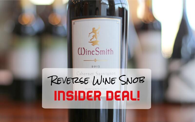 A Dynamically Delicious Insider Deal! The WineSmith Cabernet Sauvignon