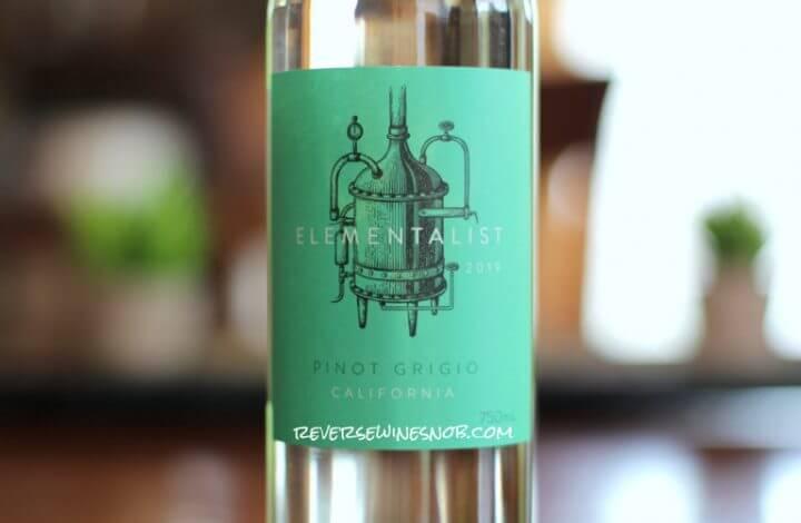 Elementalist Pinot Grigio – Super Tasty For $7