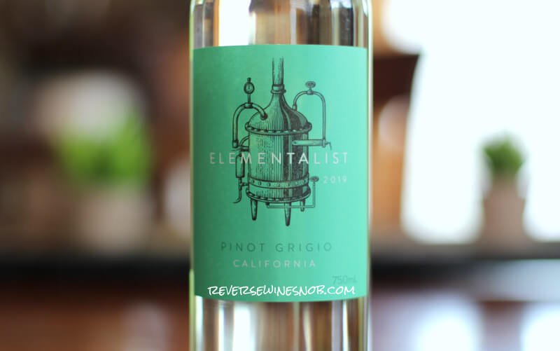 Elementalist Pinot Grigio – Super Tasty For $7