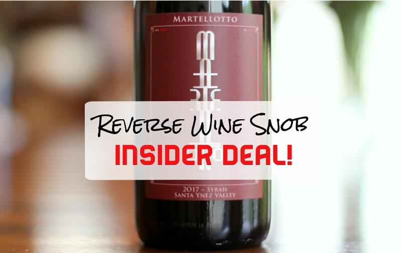 1 Day Insider Deal! Save $30 A Bottle On A Succulent Syrah